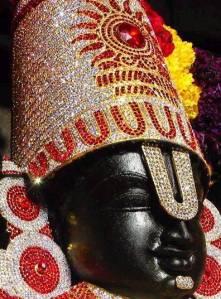 Face of Lord Balaji