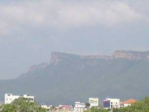 Tirupathi Hills  seen normally,..jpg.