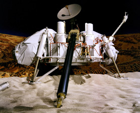 Viking Lander touches down