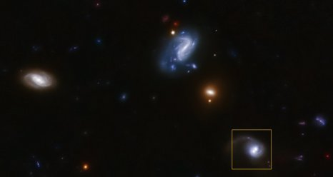 Black Hole kicked out of Galaxy