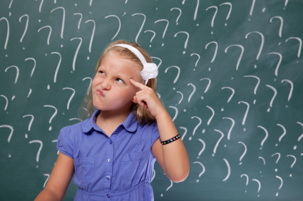 Child questions ..WHY?