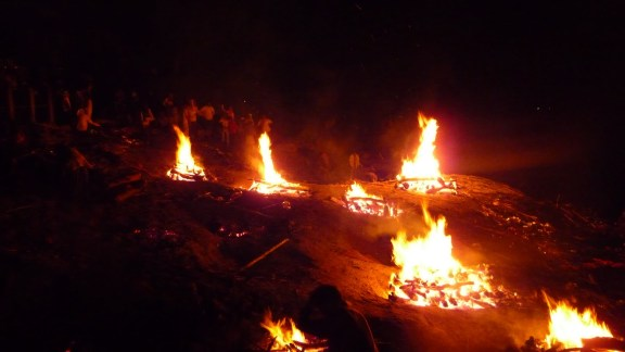 Bodies Burning Varanasi
