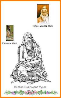 Vasishta, Parasara and Vyasa.