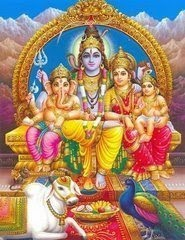 Shiva and His sons