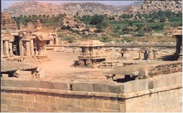Ravana impriosed Sita in Asokavana.