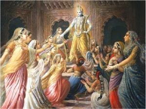 Lod Krishna had 16000 wives