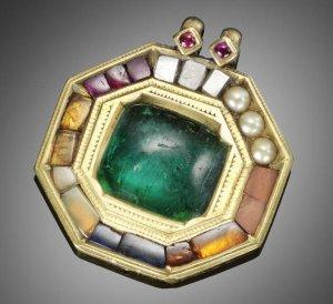 Gem from Tipu Sultan's Treasure