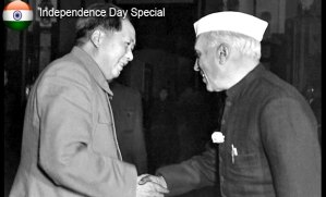 Mao met nehru before Sino Indian War