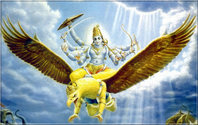 Lord Vishnu in Indonesia