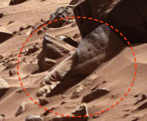 Aliens Face On Mars