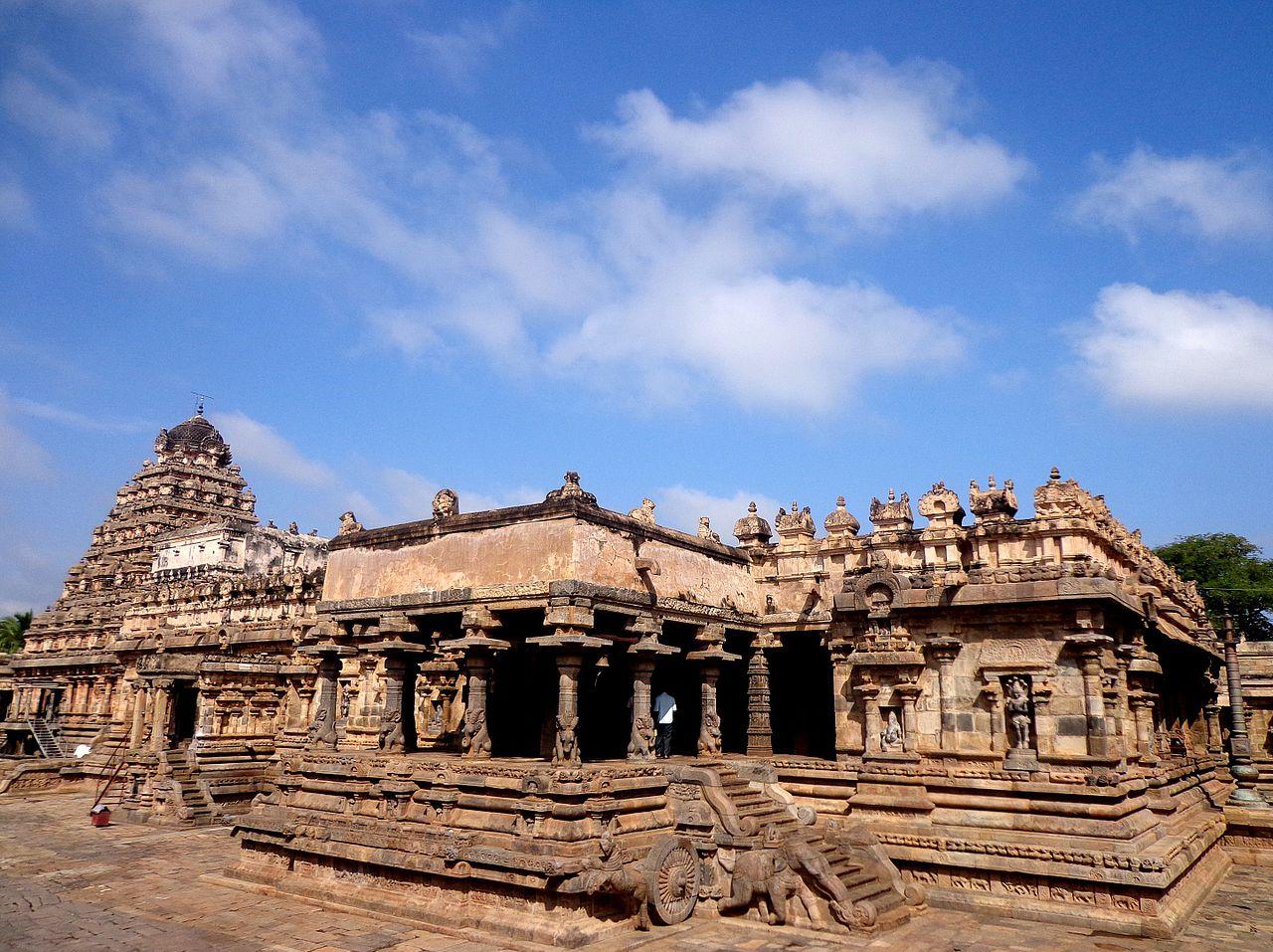 Airawadeseswara temple view.