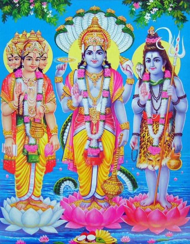 Brahma, Vishnu and Shiva.Hindu Trinty.jpg