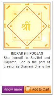 Indrakshi Yantra.
