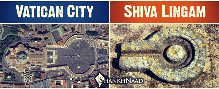 Vatican a Shiva templejpg
