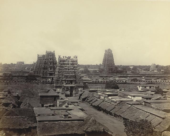 Srirangam 1868 view 1868.jpg