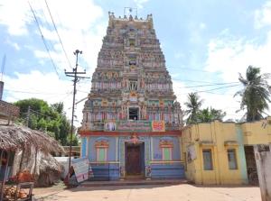 Jagan Mohini Keshavaswamy Temple Gopura,Ryali