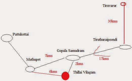 How To reach Thillaivilagam .Map.jpg