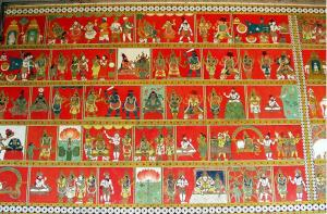 Play of Shiva, Murals in Madutai Meenakshi Temple.jpg
