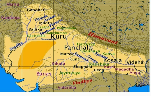 India north west kingdoms, rige vedic period.bmp.