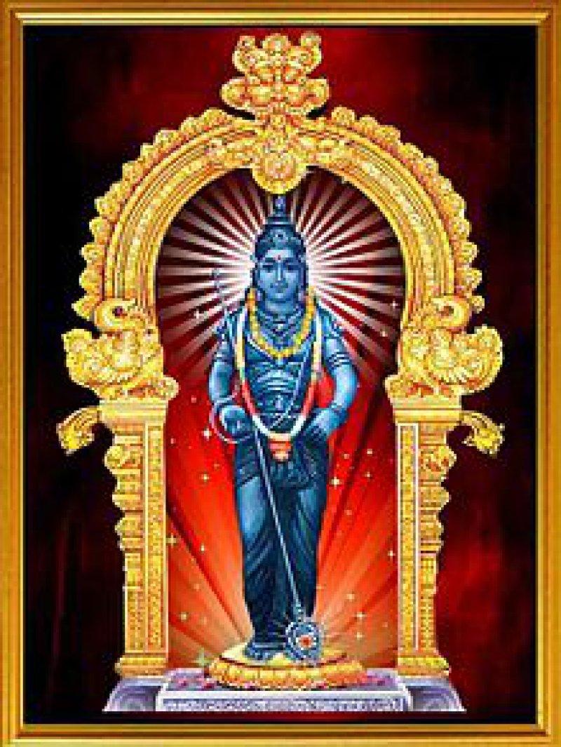 Subrahmanya,Hindu God. Image