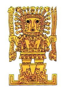 Viracocha god of Incas.Image,jpg