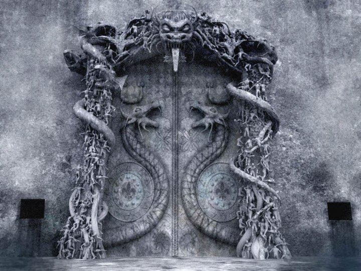 Seventh Secret Door with Snakes, Thiruvanathapuram.jpg