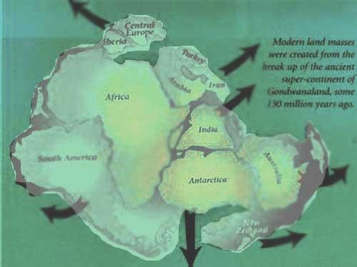 Seven ancient Islands of Earth.