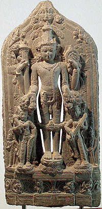 Vishnu Idol in Russia