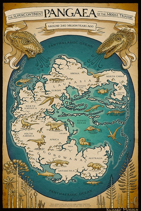 Pangaea Super continent