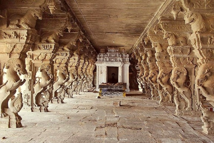 Yali Animal Sculpture in Temples