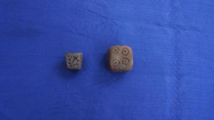 Ancient Chess Pieces at Madurai found.