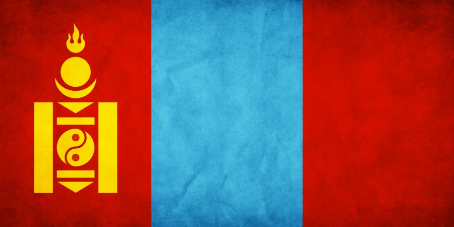National Flag of Mongolia.