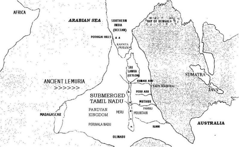 Map of Lemuria