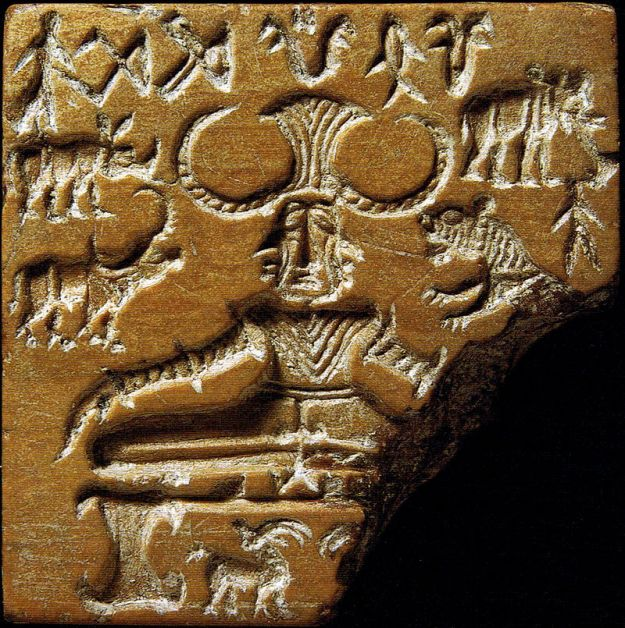 The Pashupati seal from the Indus Valley Civilization.image,jpg