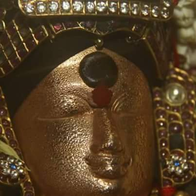 Murugansweats after receiving Spear