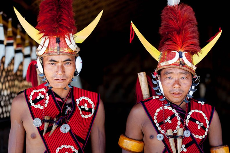 Nagas now live mostly in north east of India,