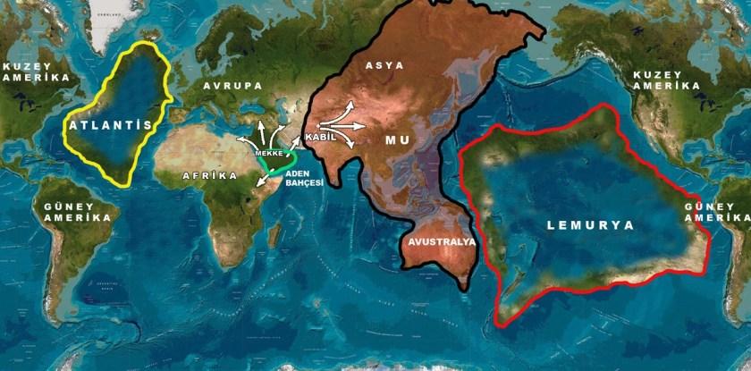 Lemuria Continent