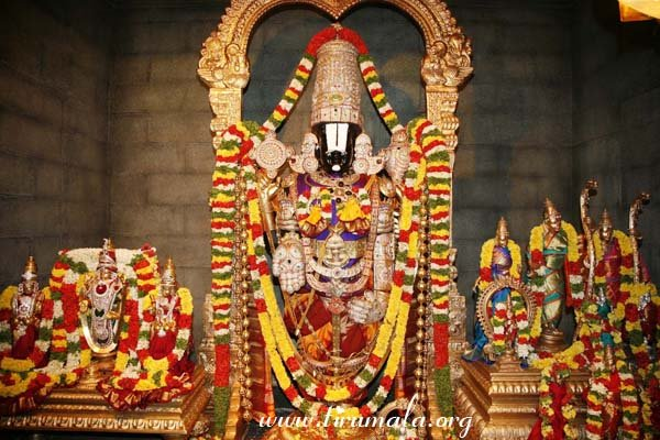 Idols in Thirupathi Sanctum image