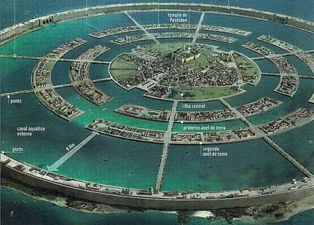 Atlantis city design. Image