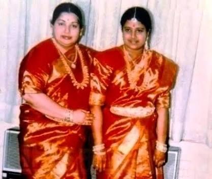 Jayalalitha Sasikala. Image
