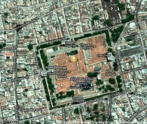 Madurai city layout.image