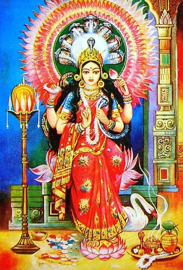 Manasa Devi,Goddess of Poison.image.