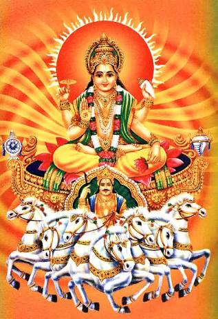 Surya,the Sun Deity, Hinduism.image.