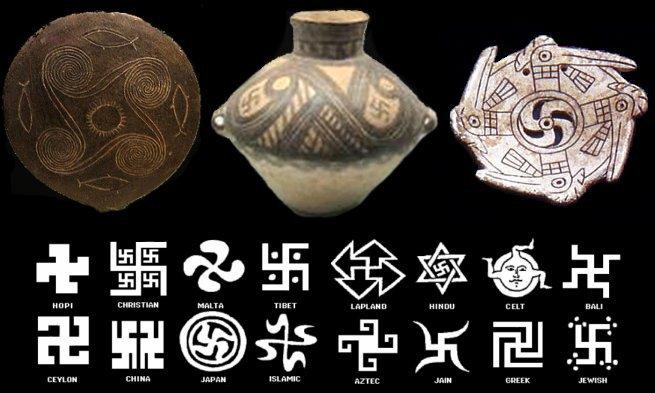 Swastika around the world.image.