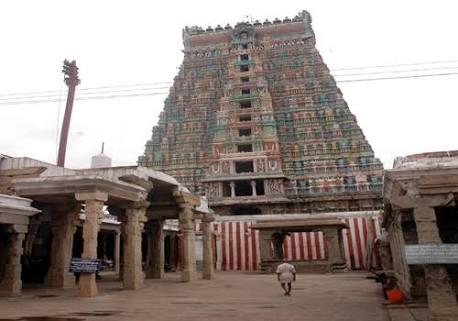 Srivilliputhur Andal temple.image.