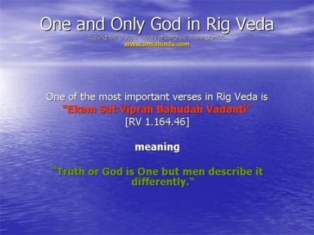 Rig Veda on God.image.