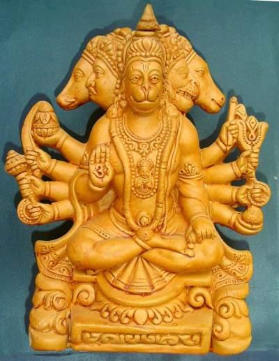 Hanuman with five faces.image