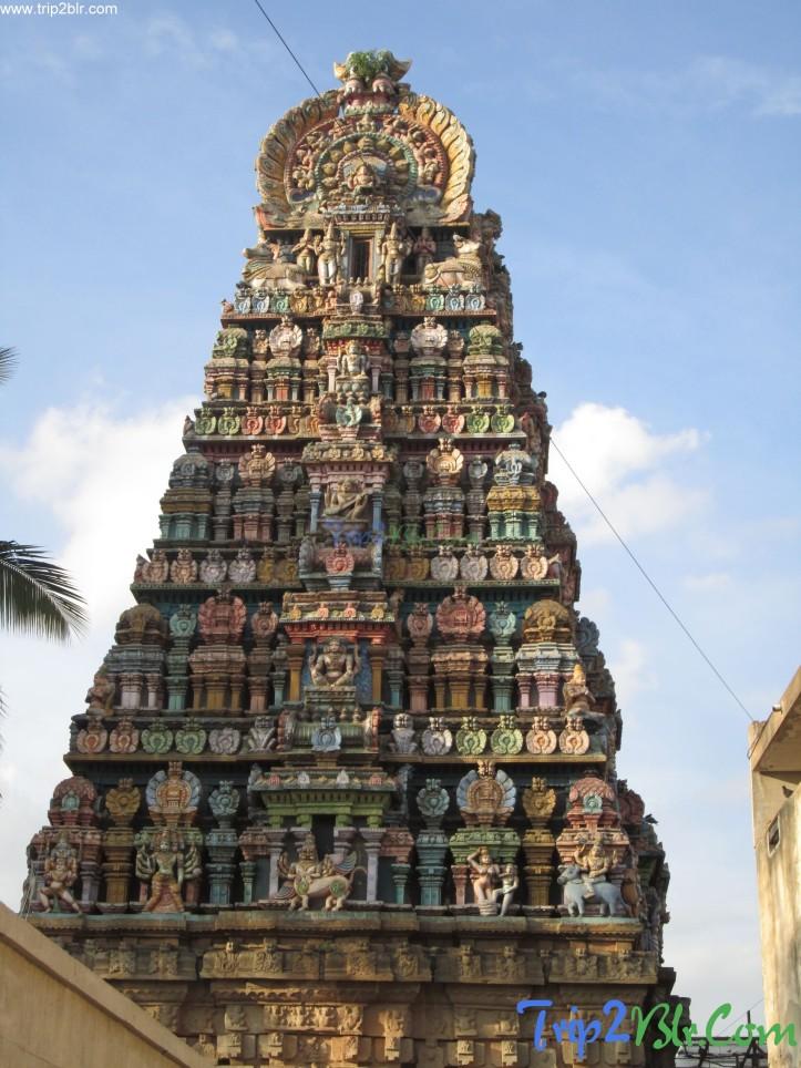 Someswara Temple Halasuru,Bangalore..image