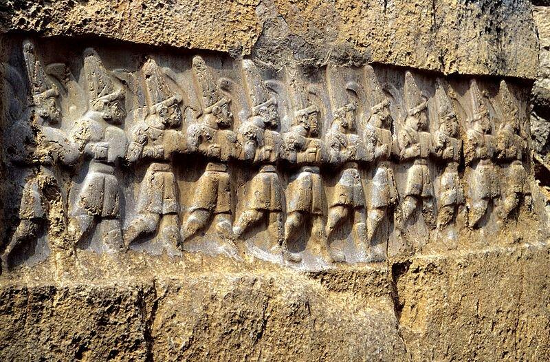 Twelve Rock images Yazilikaya.image.