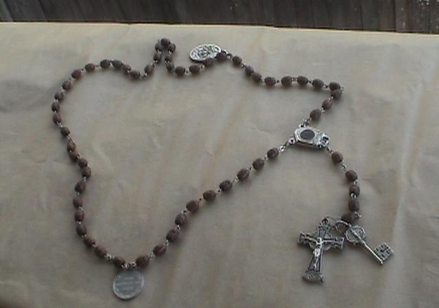 Rosary beads. Image